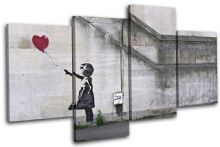 Balloon Girl  Banksy Street - 13-0756(00B)-MP04-LO